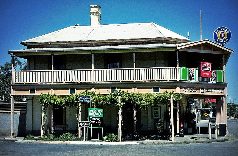 Royal Exchange Hotel Burra South Australia